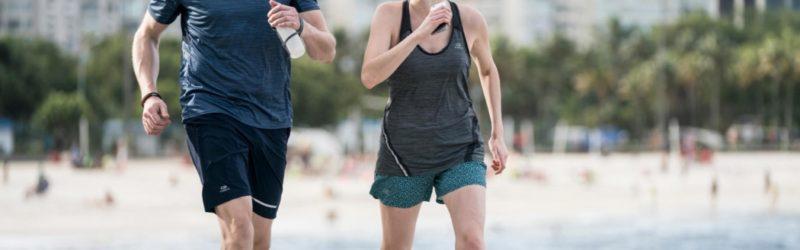 Les marches d'exercice